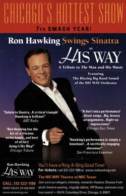 Ron Hawking His Way